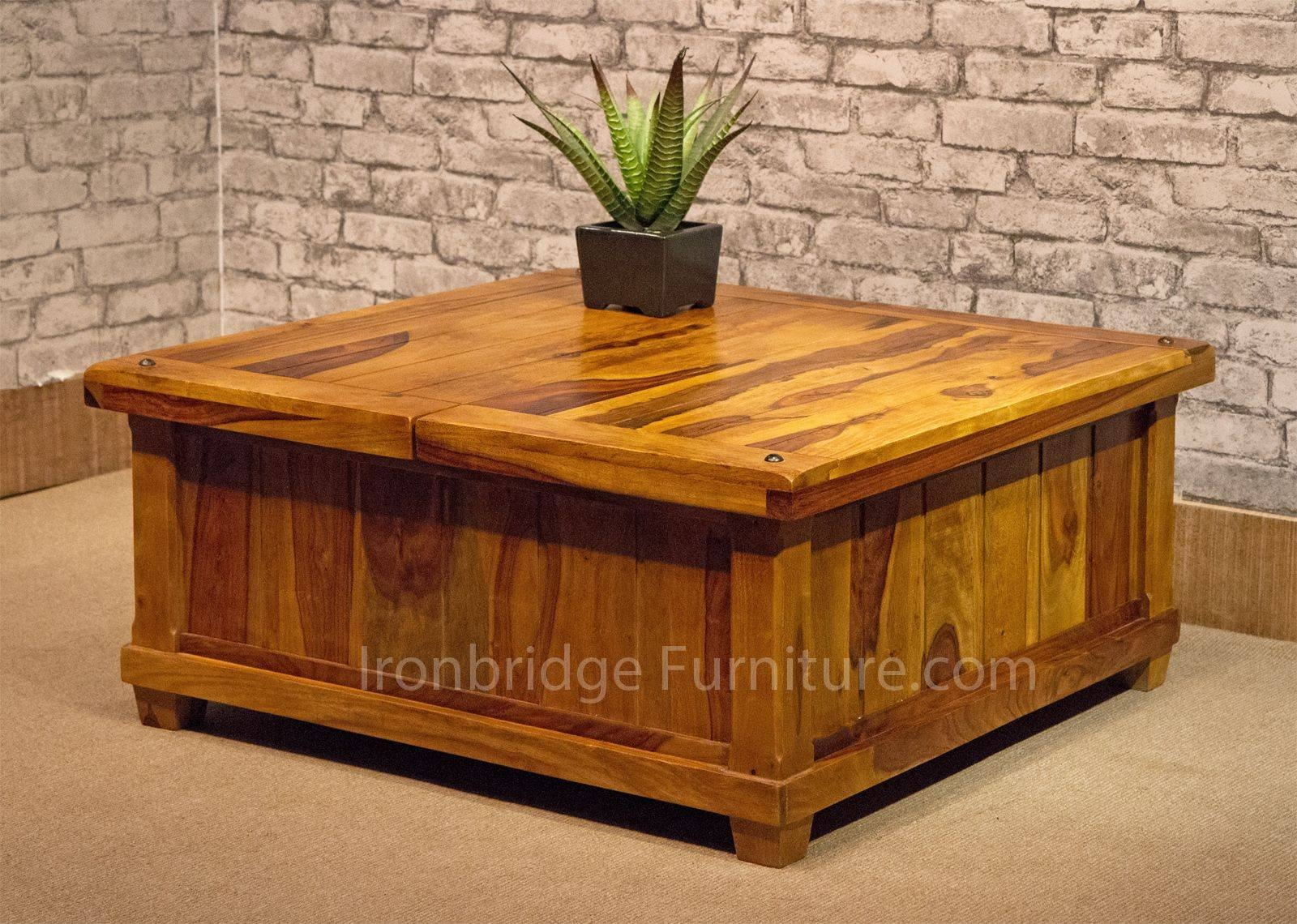 Furniture: Chest Coffee Table For Inspiring Antique Living with regard to Square Chest Coffee Tables (Image 11 of 30)