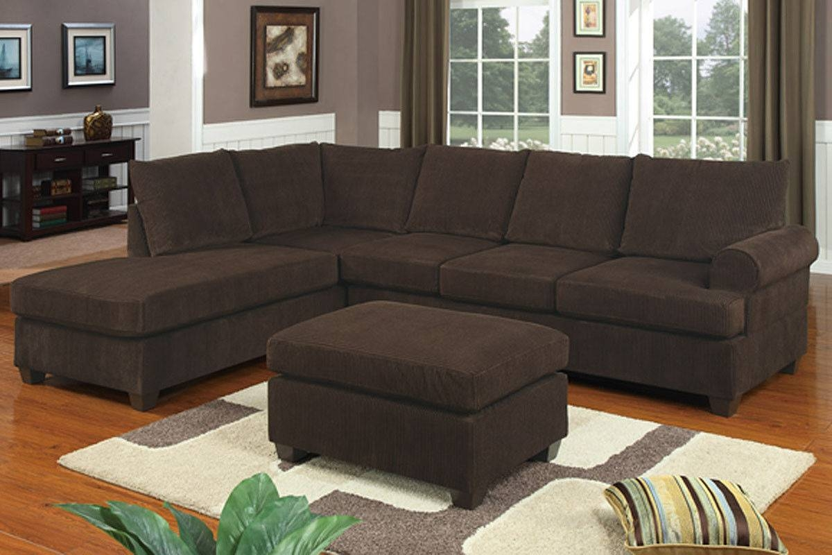 Furniture: Chic Cheap Sectional Sofas Under 400 For Living Room in Chocolate Brown Sectional Sofa (Image 16 of 30)