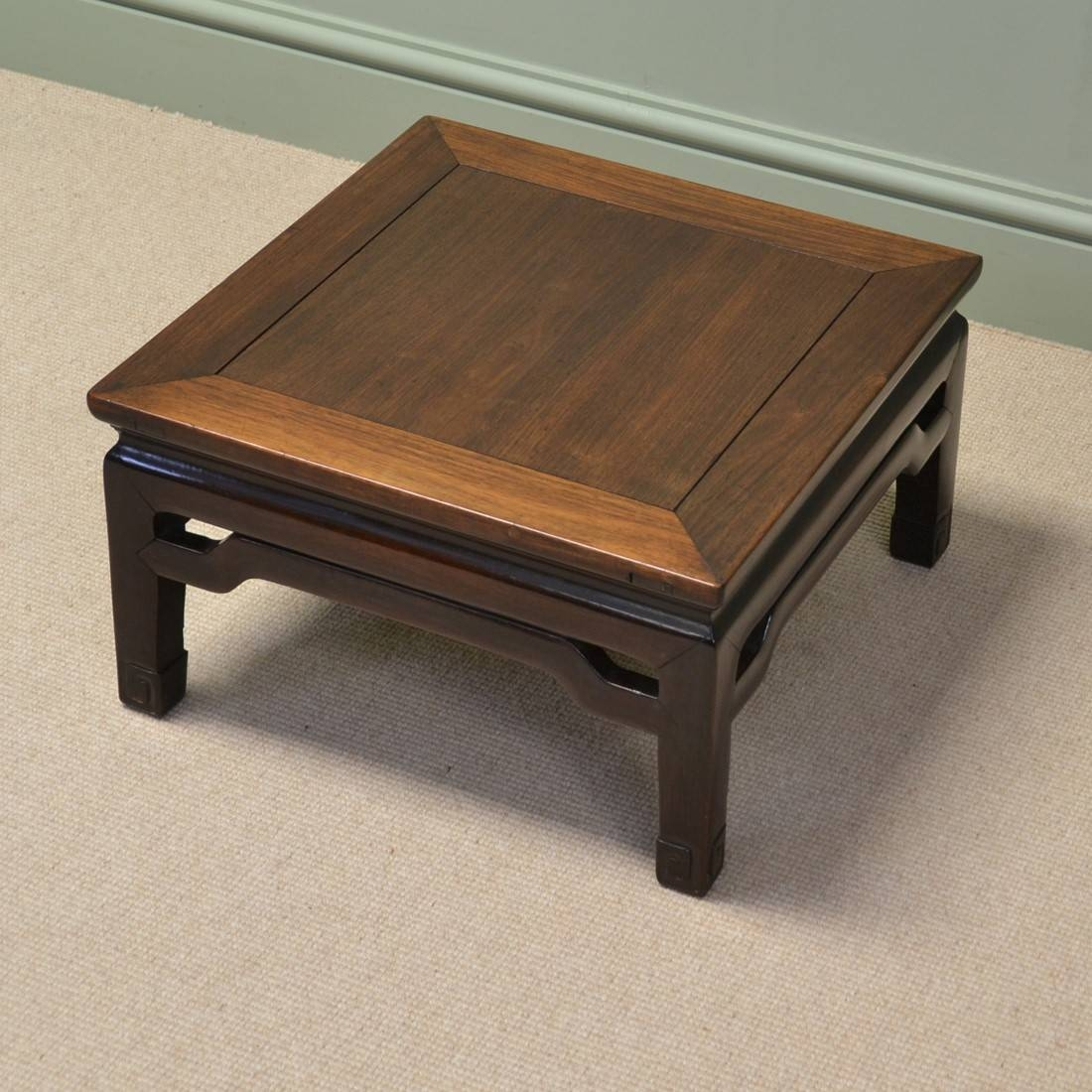 Furniture. Chinese Coffee Table Design Ideas: Dark Brown Rectangle regarding Chinese Coffee Tables (Image 21 of 30)