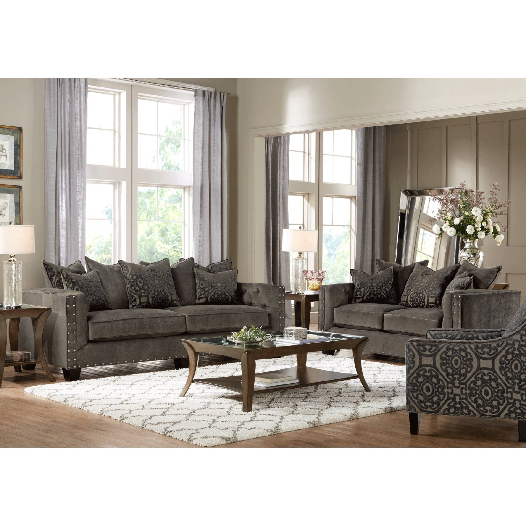Furniture: Cindy Crawford Sectional Sofa For Elegant Living Room inside Cindy Crawford Home Sectional Sofa (Image 22 of 30)