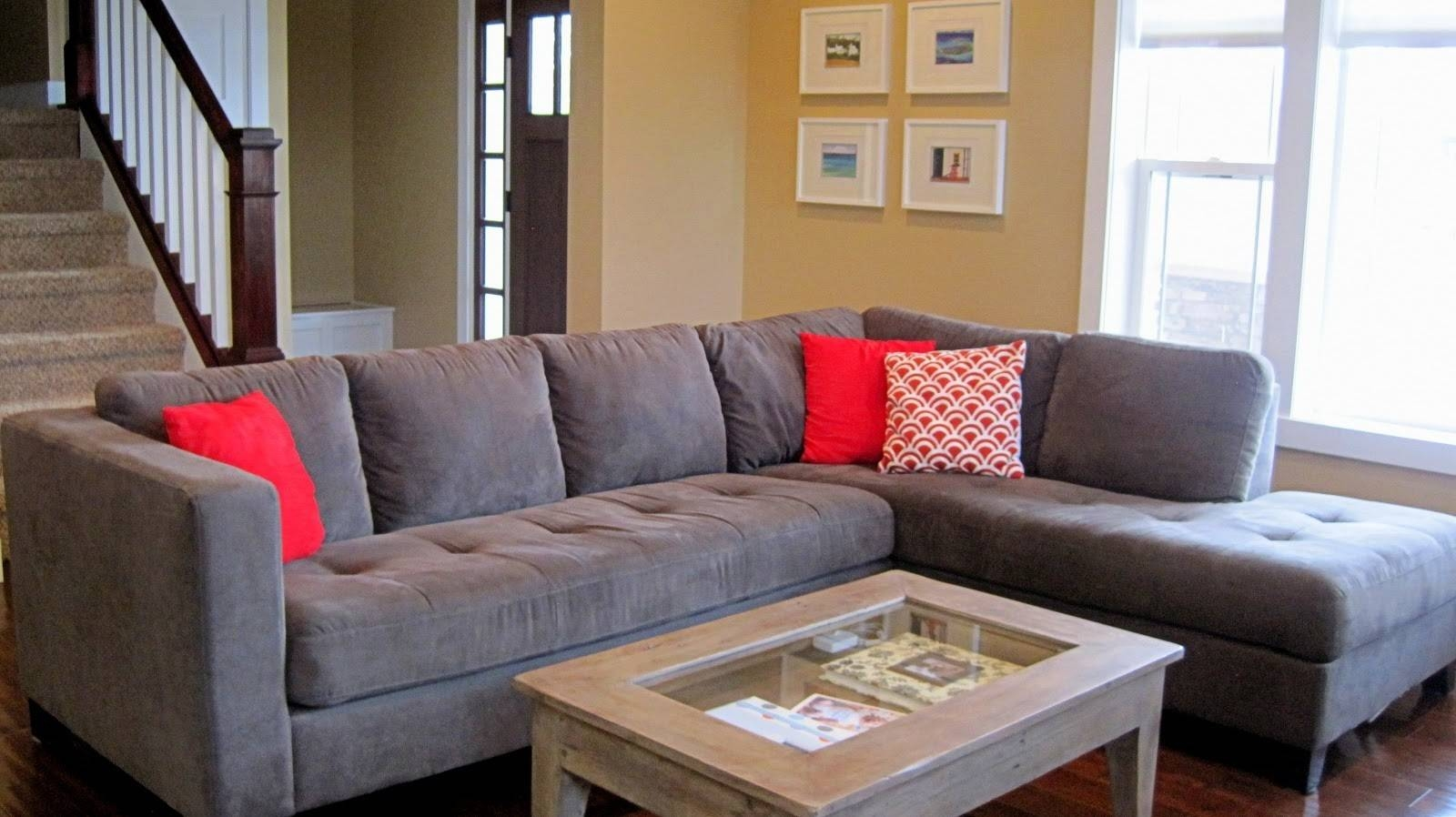 Furniture: Classic And Traditional Style Velvet Sectional Sofa For with Long Chaise Sofa (Image 8 of 25)
