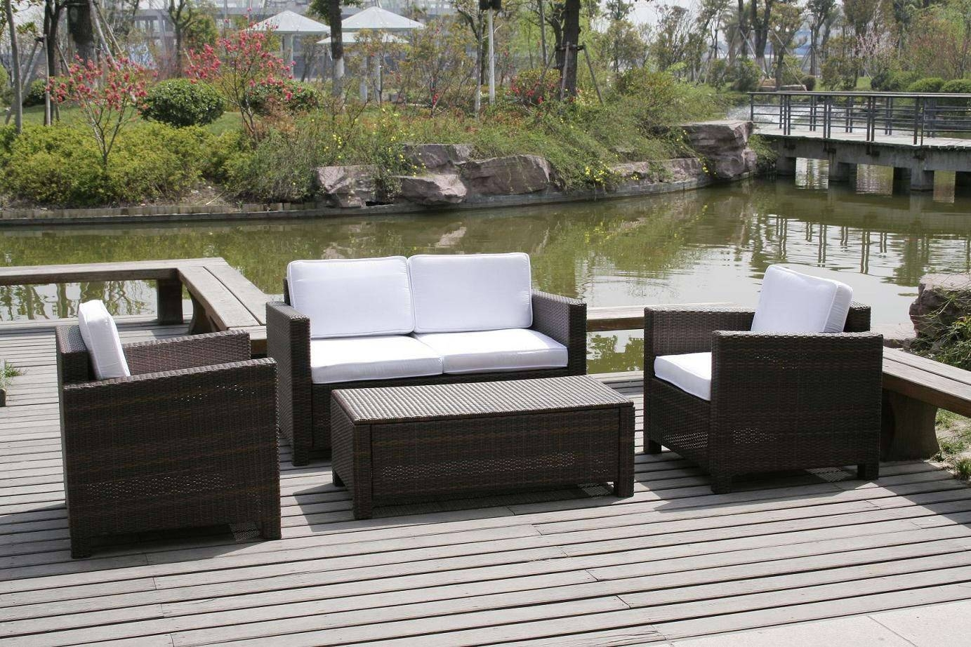 Furniture : Classic Garden Furniture With Square Wood Coffee Table within Garden Sofa Covers (Image 9 of 26)