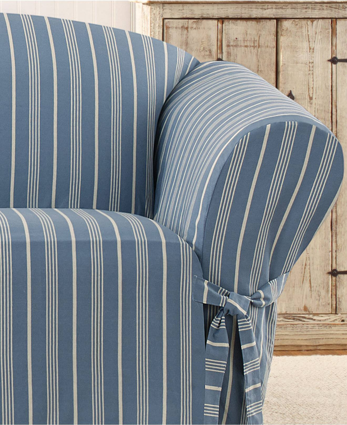 Furniture: Classy Design Of Sure Fit Sofa Slipcovers For Inspiring for 2 Piece Sofa Covers (Image 10 of 30)