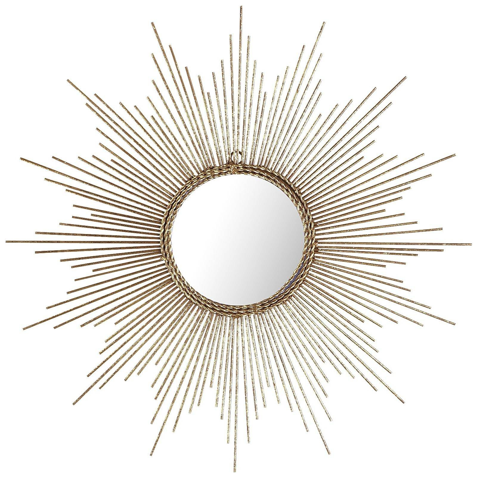 Furniture: Closet Mirrors Home Depot | Home Depot Sunburst Mirror regarding Sun Mirrors (Image 6 of 25)