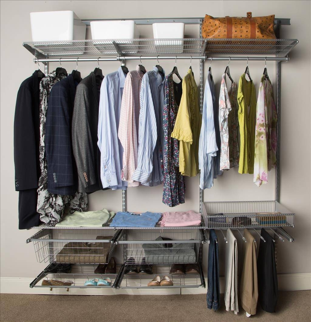 Furniture: Clothes Storage System To Help You To Arrange Your with regard to Industrial Style Wardrobes (Image 5 of 15)