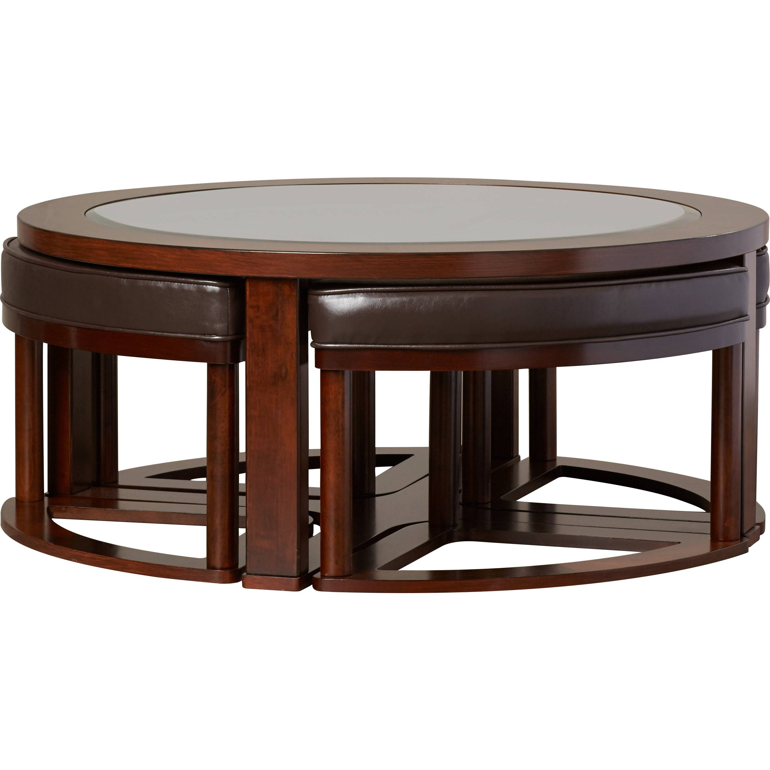 Furniture: Coffee Table With Chairs Underneath Coffee Table With pertaining to Coffee Table With Chairs (Image 21 of 30)