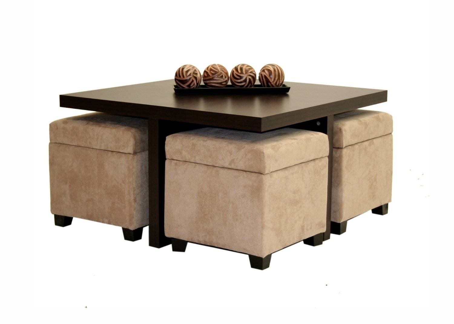 Furniture: Coffee Table With Stools Underneath | Ashley Coffee intended for Coffee Tables With Basket Storage Underneath (Image 13 of 30)