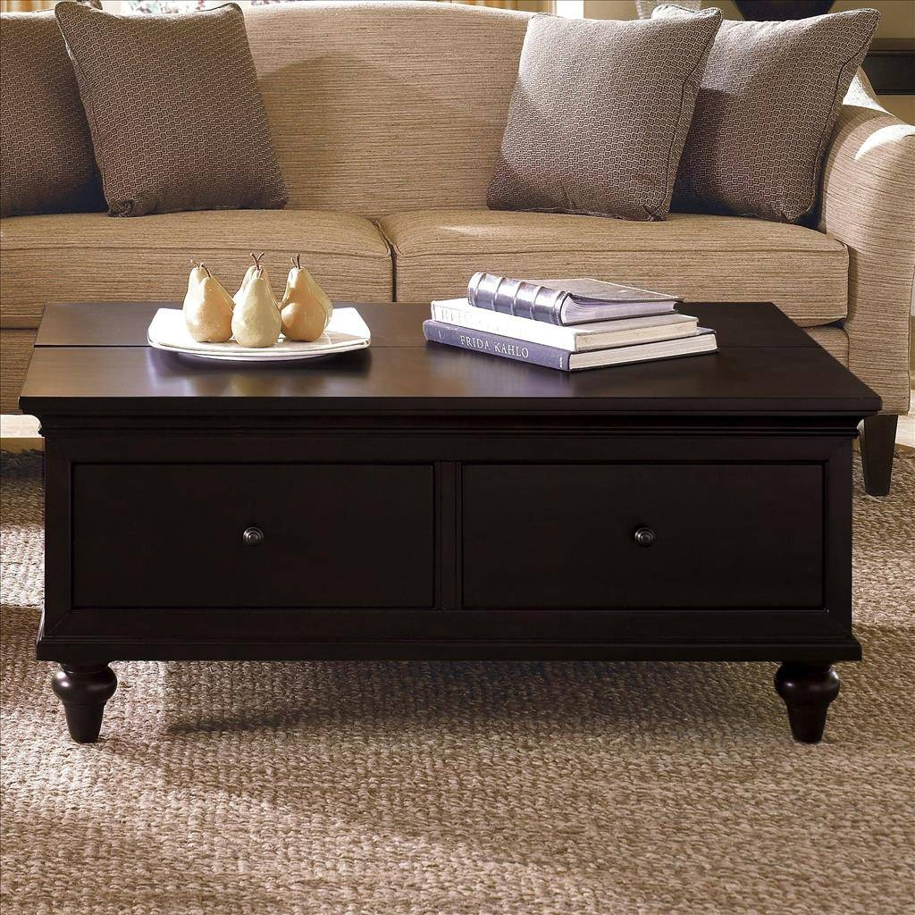 Furniture. Coffee Table With Storage Versatility And Practically with regard to Coffee Tables With Basket Storage Underneath (Image 12 of 30)