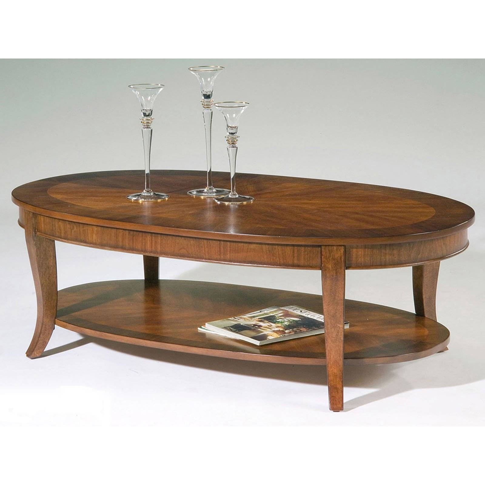 Furniture: Coffee Tables Sets | Modern Oval Coffee Table | Small within Oval Wooden Coffee Tables (Image 14 of 30)