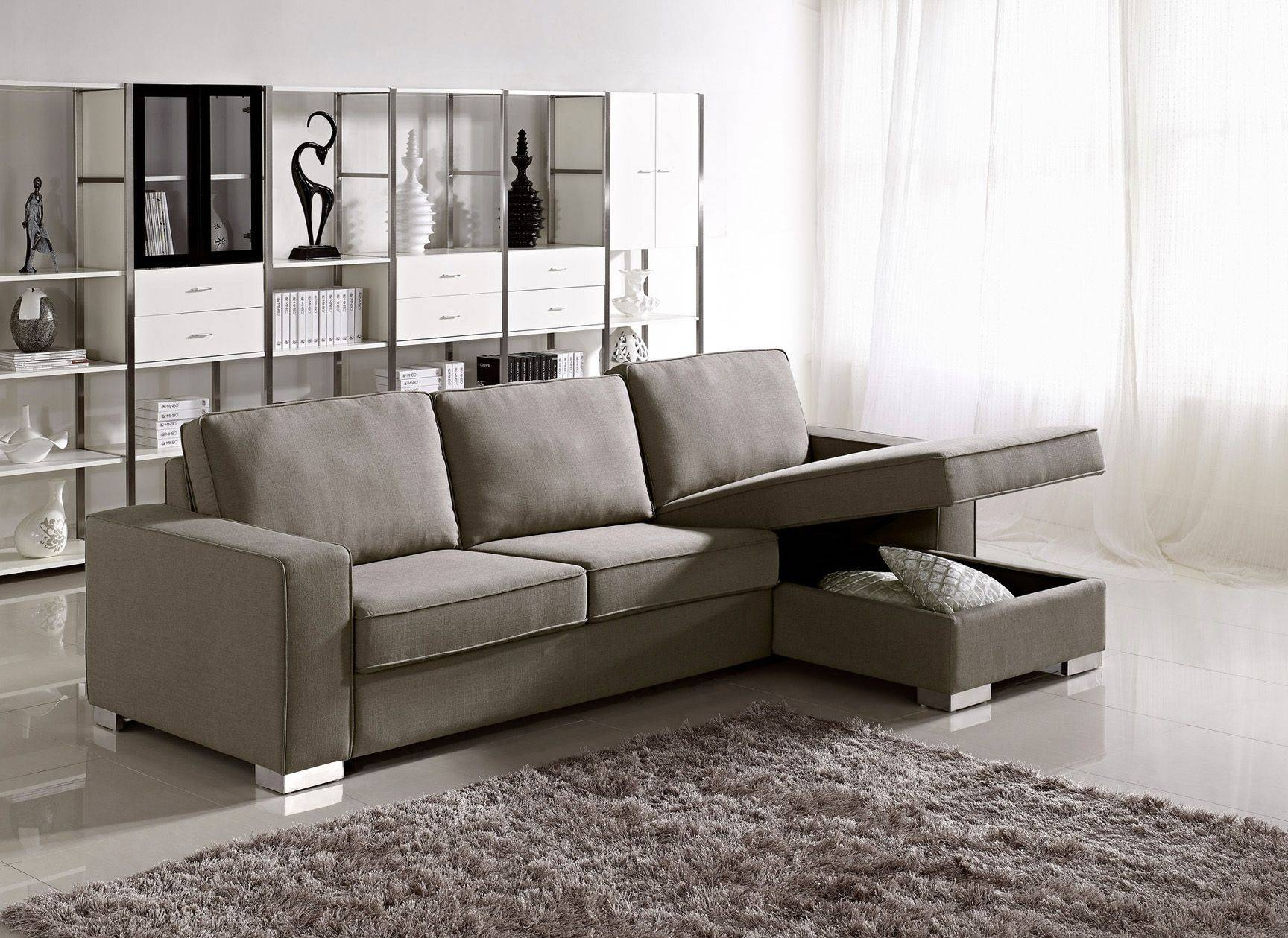 Furniture: Comfortable Deep Seat Sectional For Your Living Room in Extra Wide Sectional Sofas (Image 18 of 30)