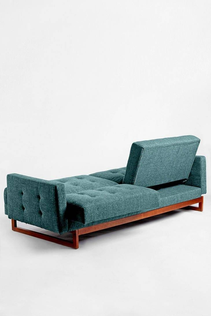 Furniture: Comfortable Modern Sofa Design With Cozy Armless Settee inside Backless Chaise Sofa (Image 11 of 30)