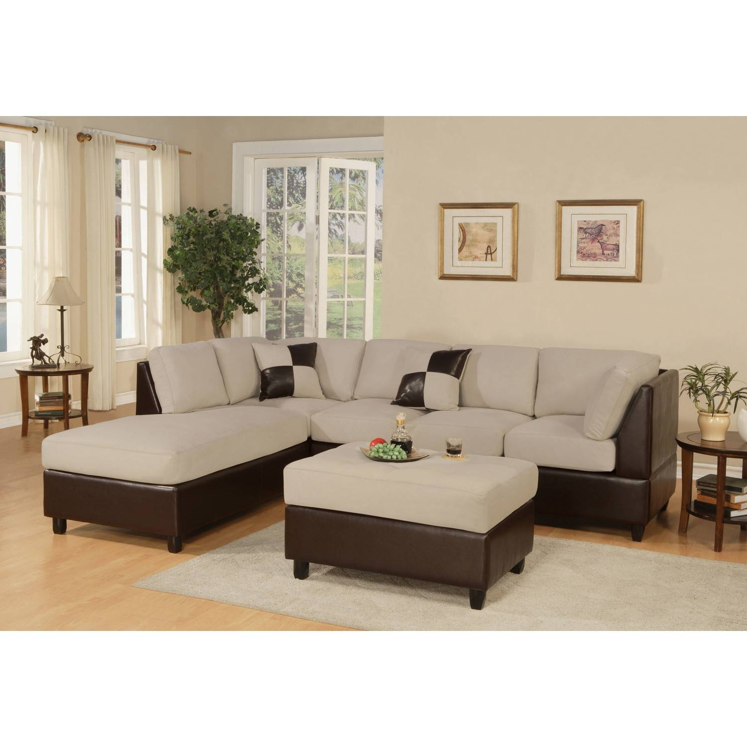 Furniture: Comfortable Modular Sectional Sofa For Modern Living pertaining to Coffee Table for Sectional Sofa With Chaise (Image 12 of 30)