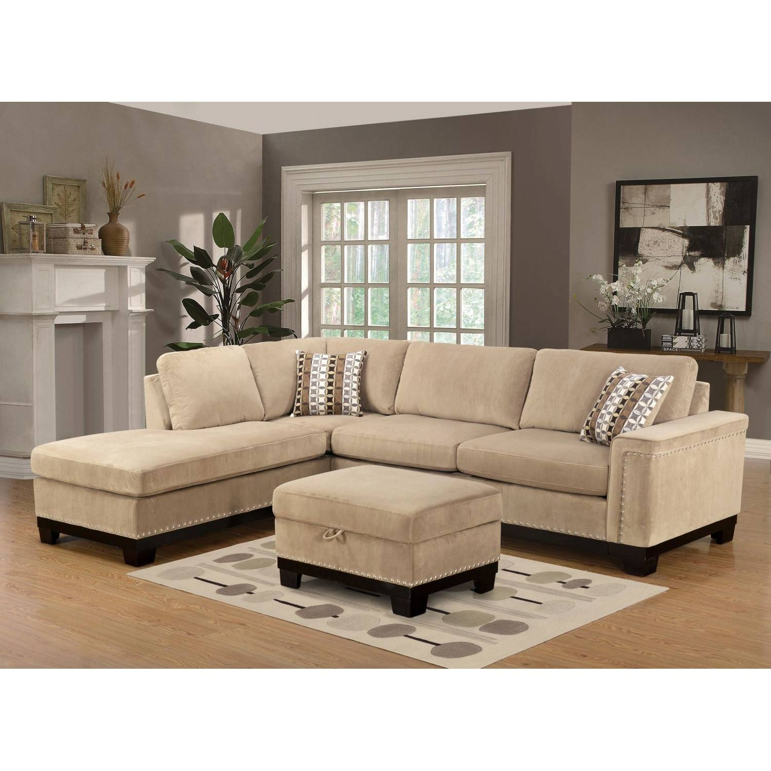 Furniture: Comfy Design Of Oversized Couch For Charming Living intended for Comfy Sectional Sofa (Image 12 of 30)