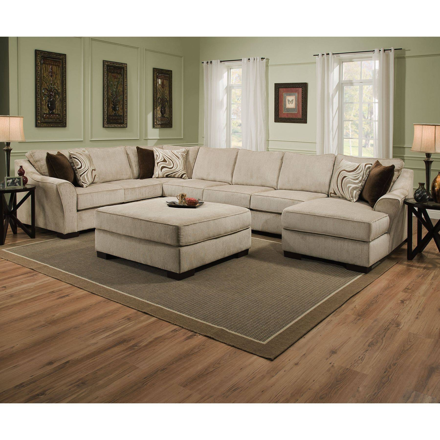 Furniture: Comfy Sectional Sofa | Huge Sectional Sofas | Extra with regard to Large Comfortable Sectional Sofas (Image 10 of 25)