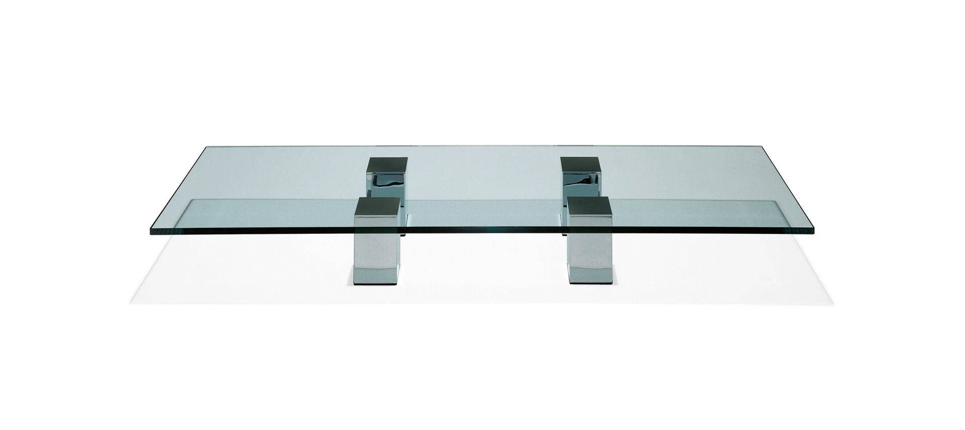Furniture. Contemporary Glass Coffee Tables Ideas: Clear Low for Low Coffee Tables With Storage (Image 14 of 30)