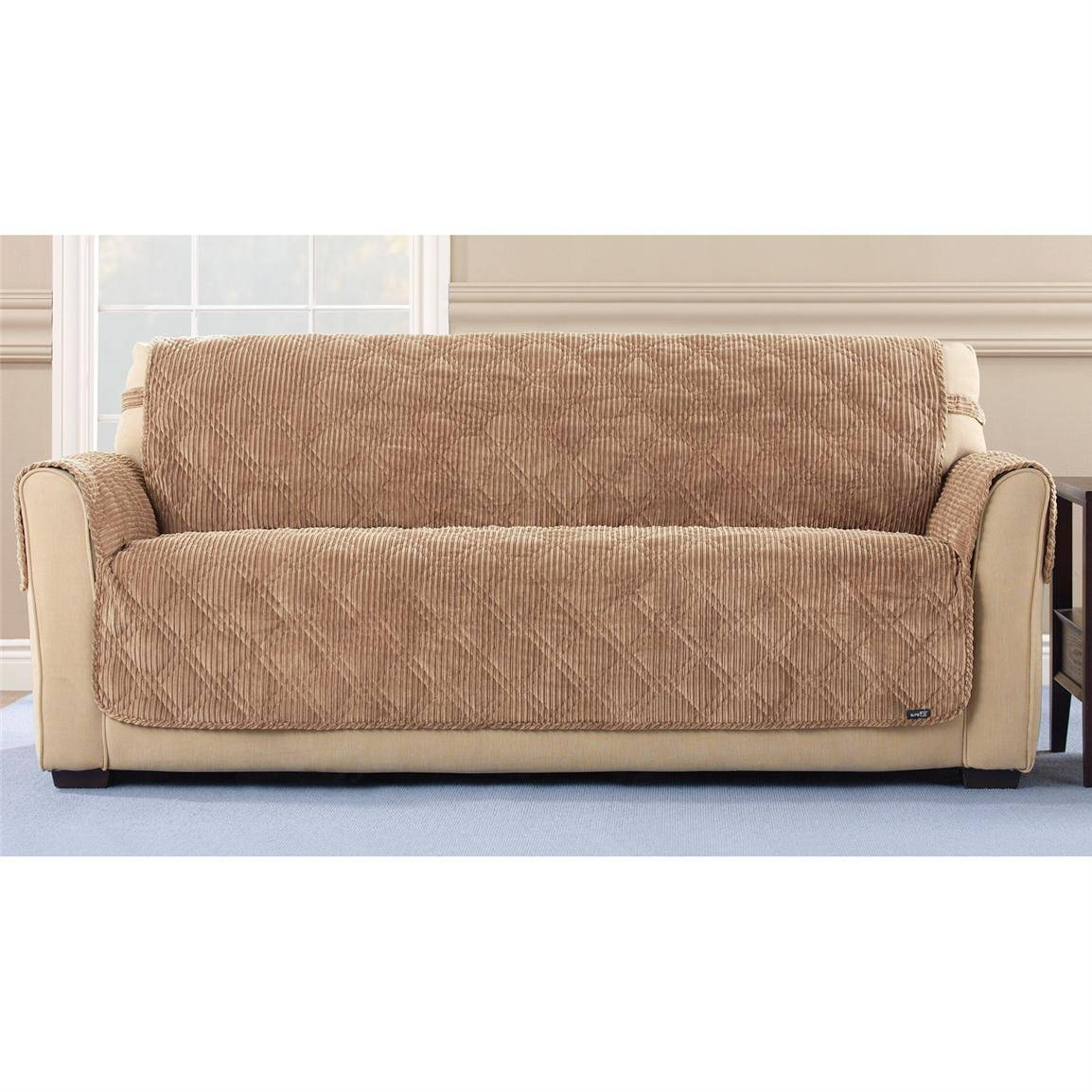 Furniture: Contemporary Sofa Design With Sure Fit Couch Covers for Covers For Sofas (Image 5 of 30)