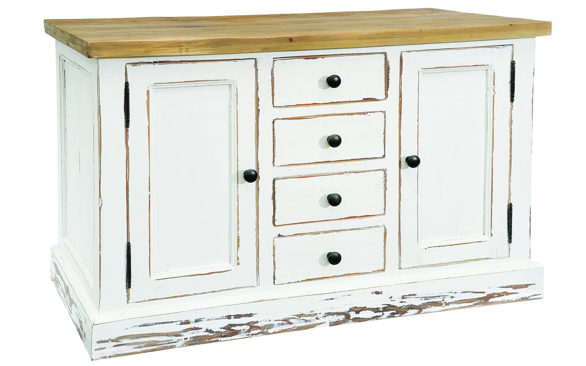 Furniture: Contemporary Version Of Distressed Sideboard Buffet for Small Sideboard Cabinets (Image 10 of 30)