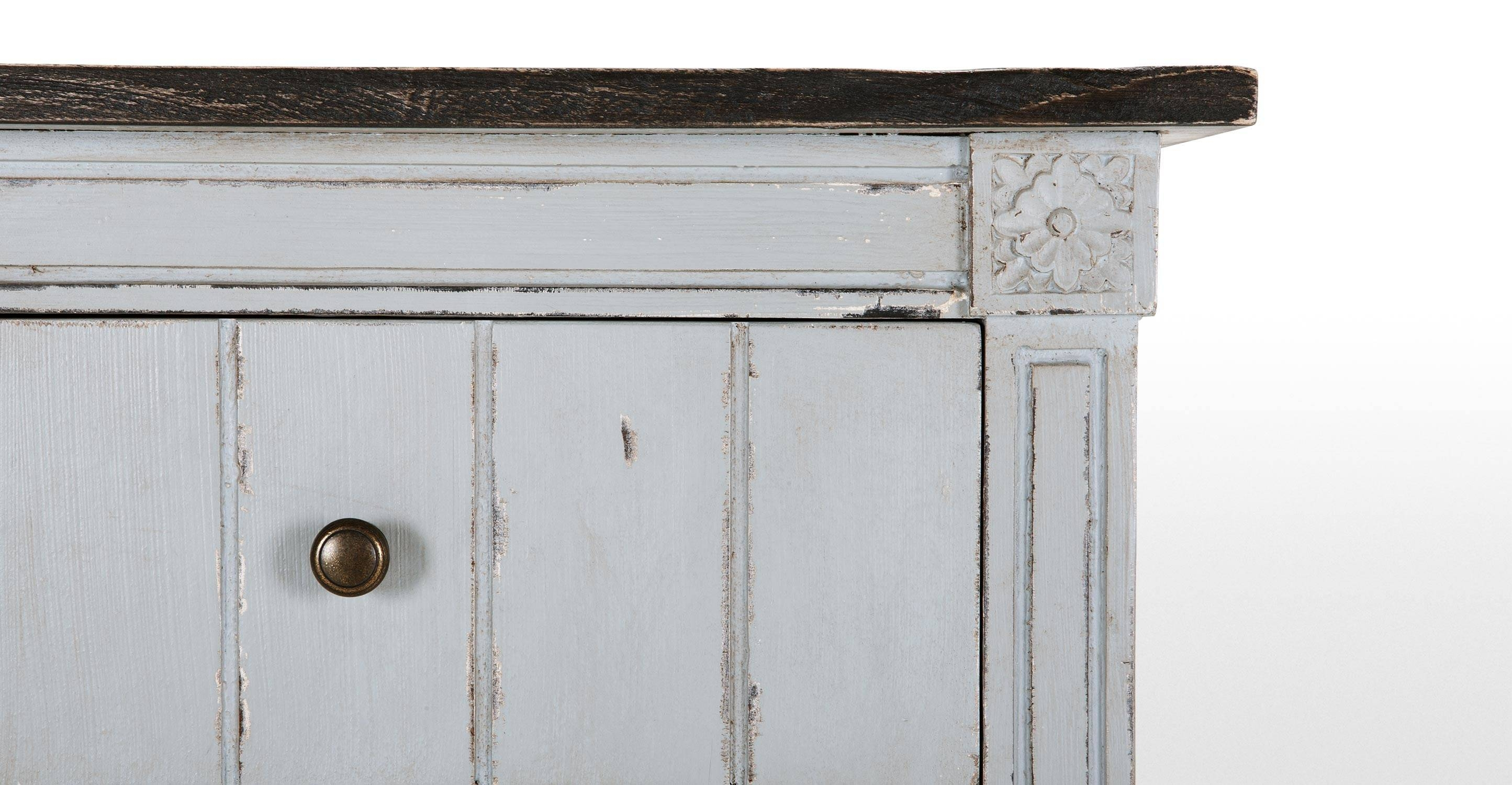 Furniture: Contemporary Version Of Distressed Sideboard Buffet intended for Distressed Wood Sideboards (Image 8 of 30)