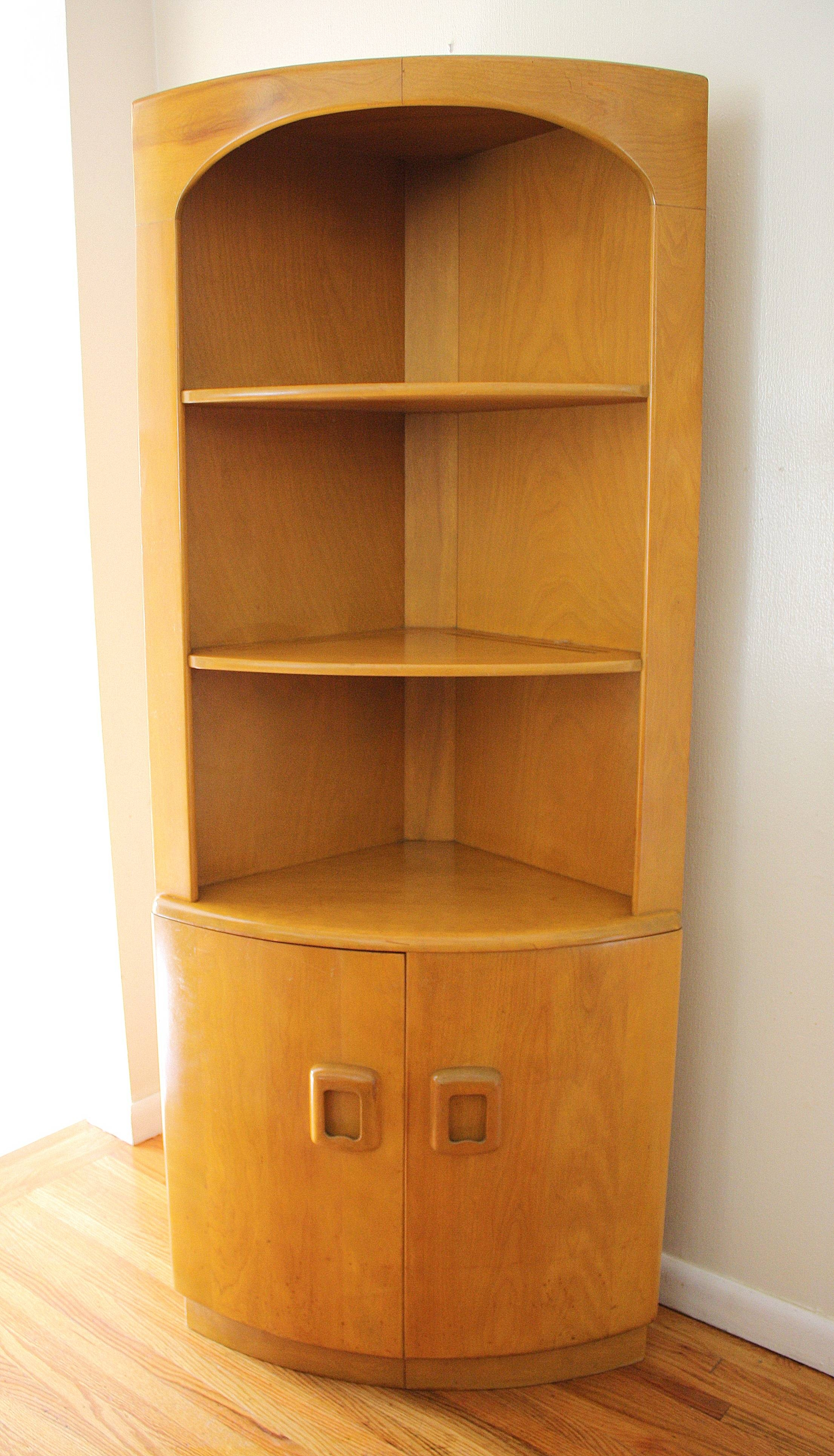Furniture: Corner Storage Cabinet | Kitchen Hutch For Sale in Corner Sideboard Units (Image 20 of 30)
