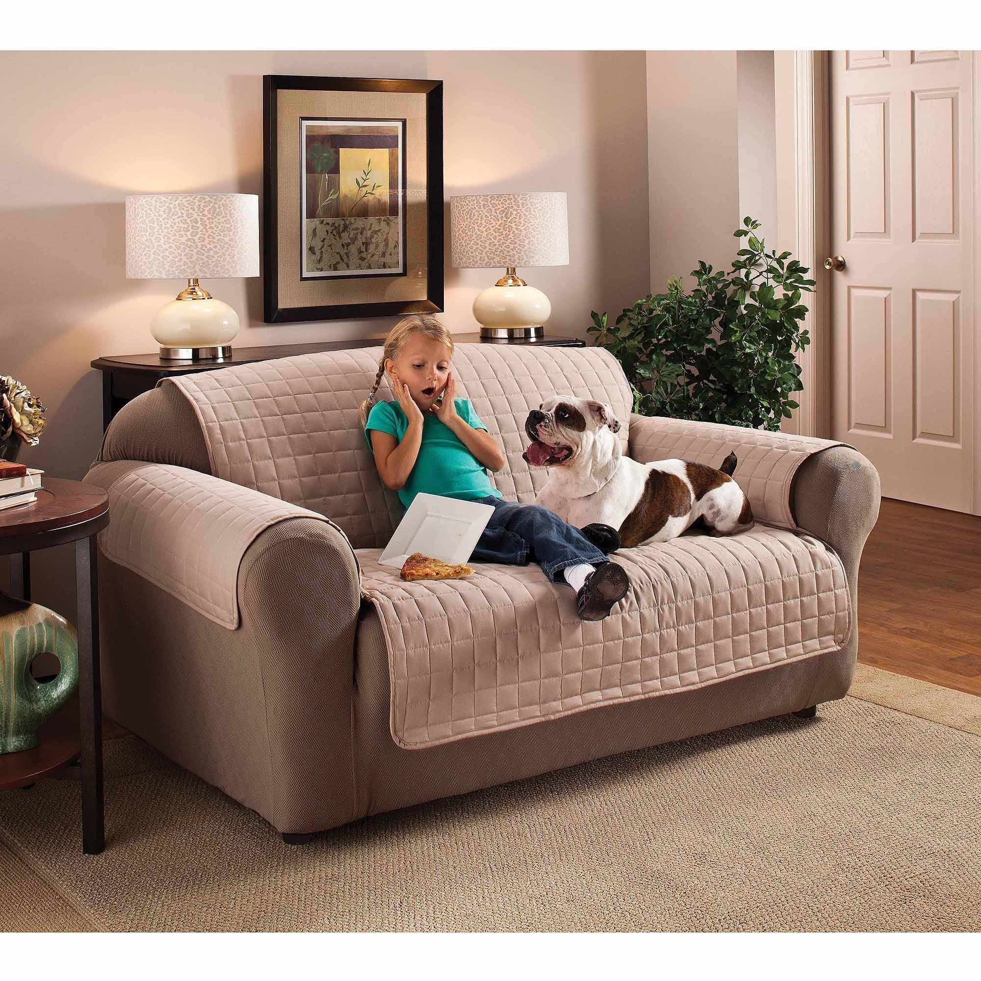 Furniture: Couch Covers At Walmart To Make Your Furniture Stylish pertaining to Covers for Sofas (Image 11 of 30)