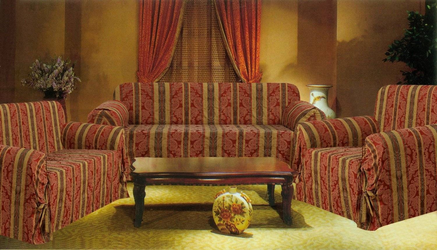 Furniture: Couch Covers Walmart For Easily Protect Your Furniture with regard to Sofa Loveseat Slipcovers (Image 6 of 30)