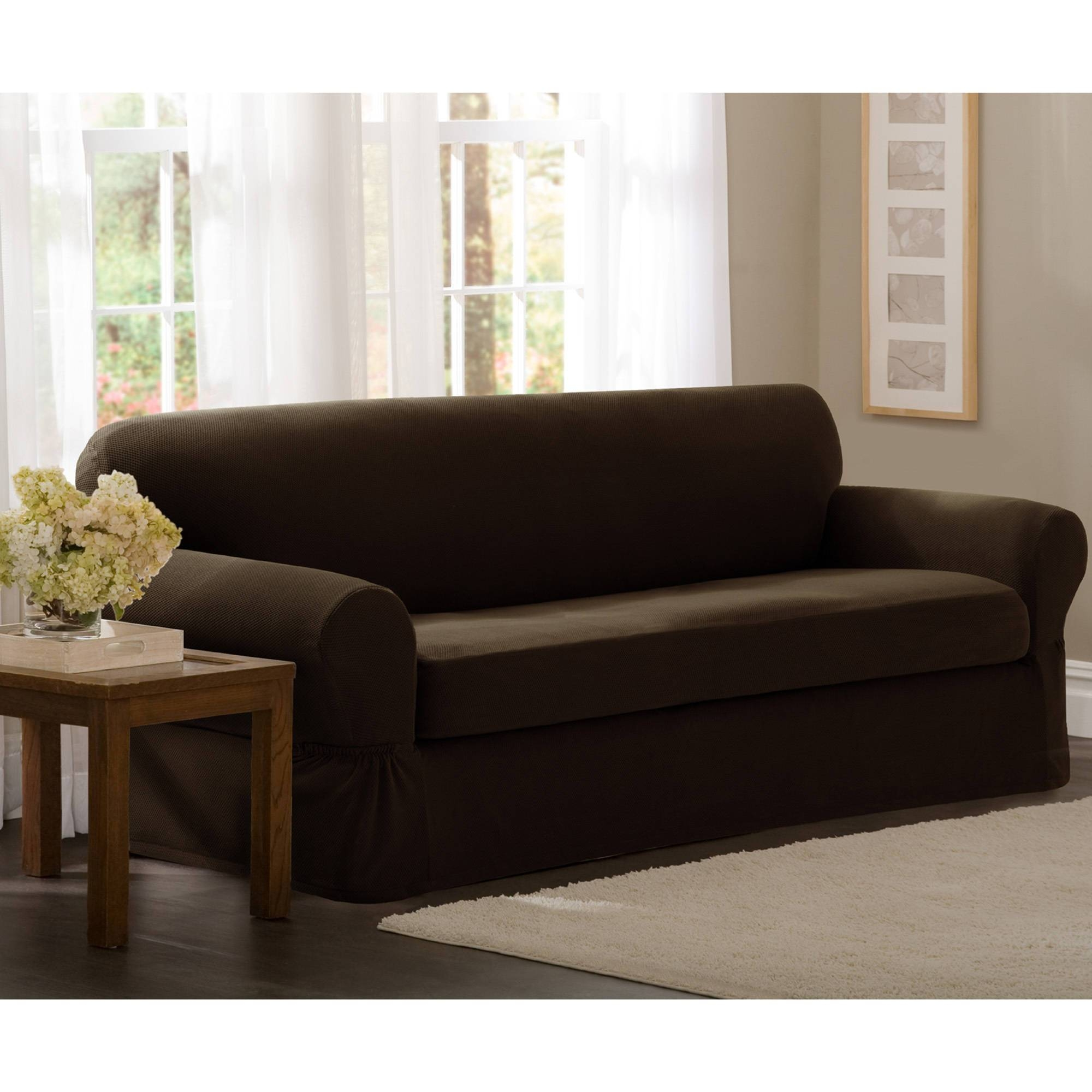 Furniture: Couch Protector | Couch Covers Walmart | Target Sofa Covers throughout Chaise Sofa Covers (Image 4 of 30)