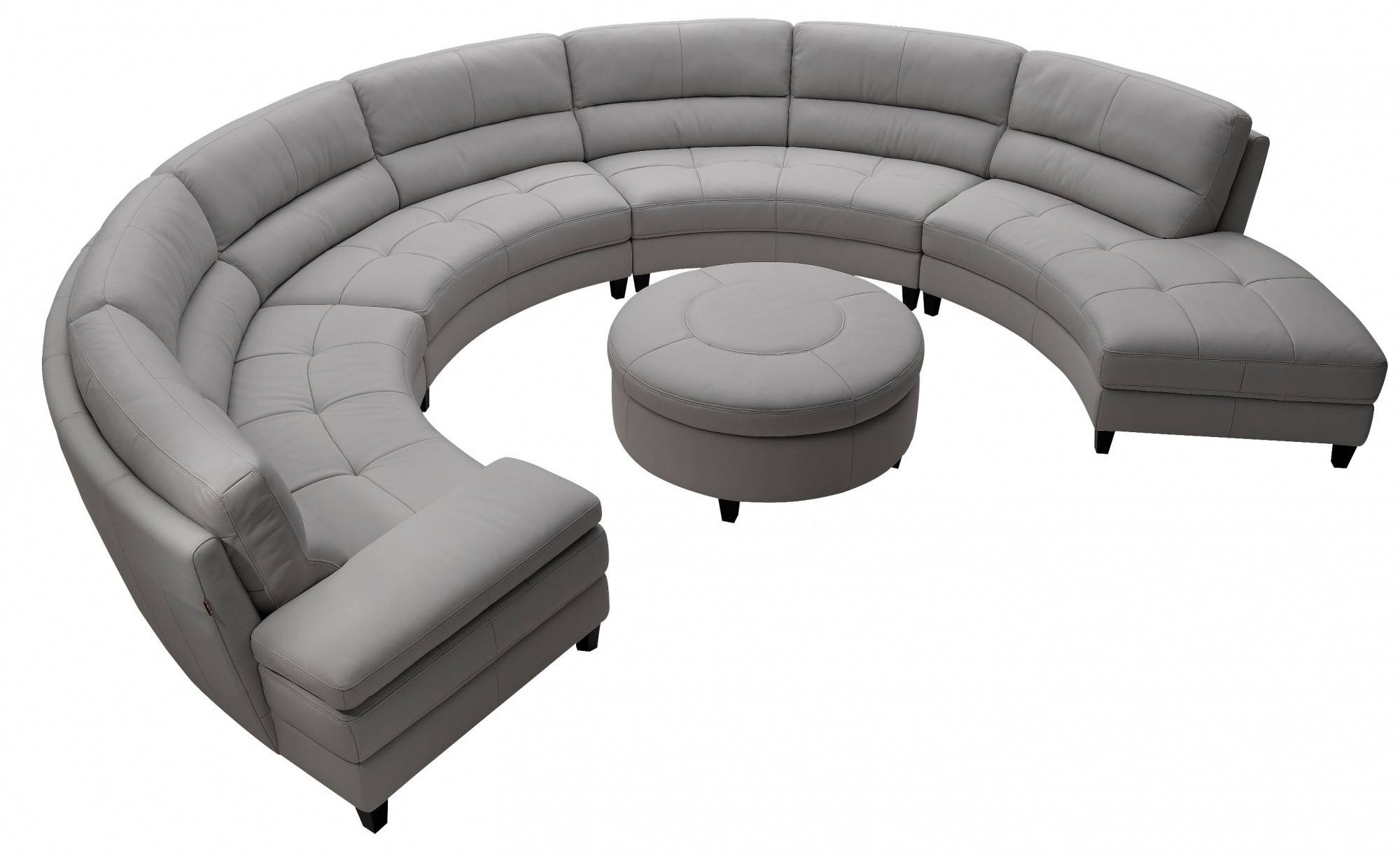 Furniture: Couch Sectional | Sofa With Chaise Lounge | Round Couches inside Round Sofas (Image 7 of 30)