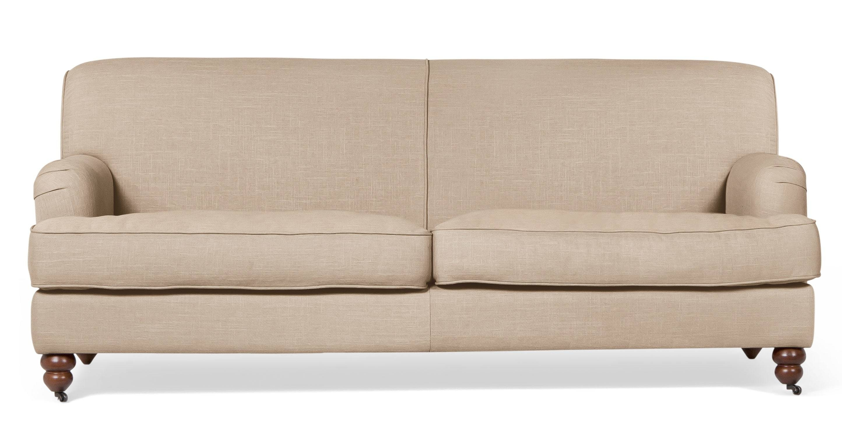 Furniture: Cozy Beige Couch Design For Classic Living Room Ideas regarding Angled Chaise Sofa (Image 9 of 30)