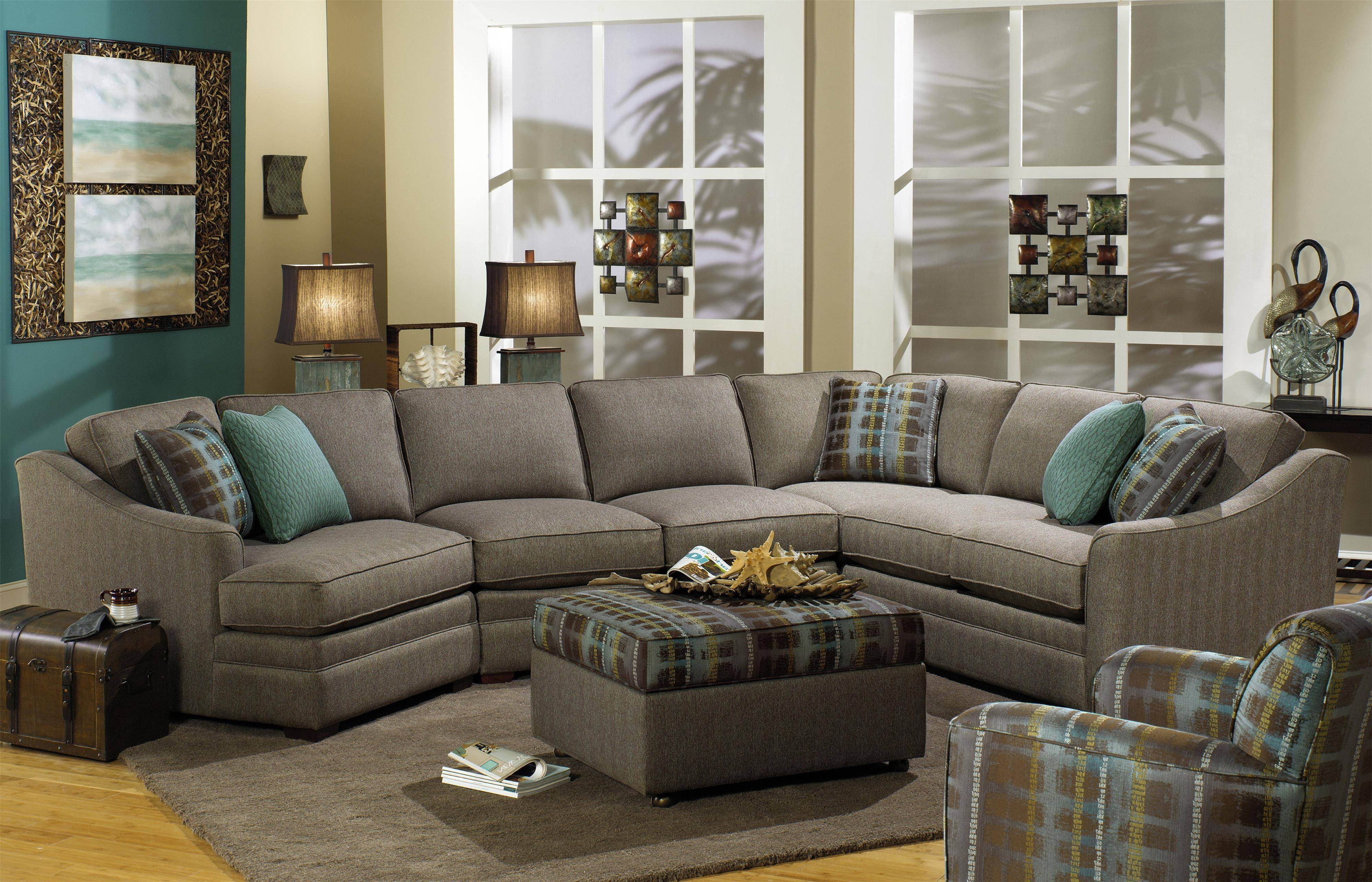 Furniture: Craftmaster Furniture | Craftmaster Sectional Sofa With Regard  To Craftmaster Sectional Sofa (Image