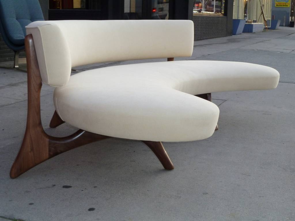 Furniture: Create Your Comfortable Living Room Decor With Round for Rounded Sofa (Image 8 of 25)