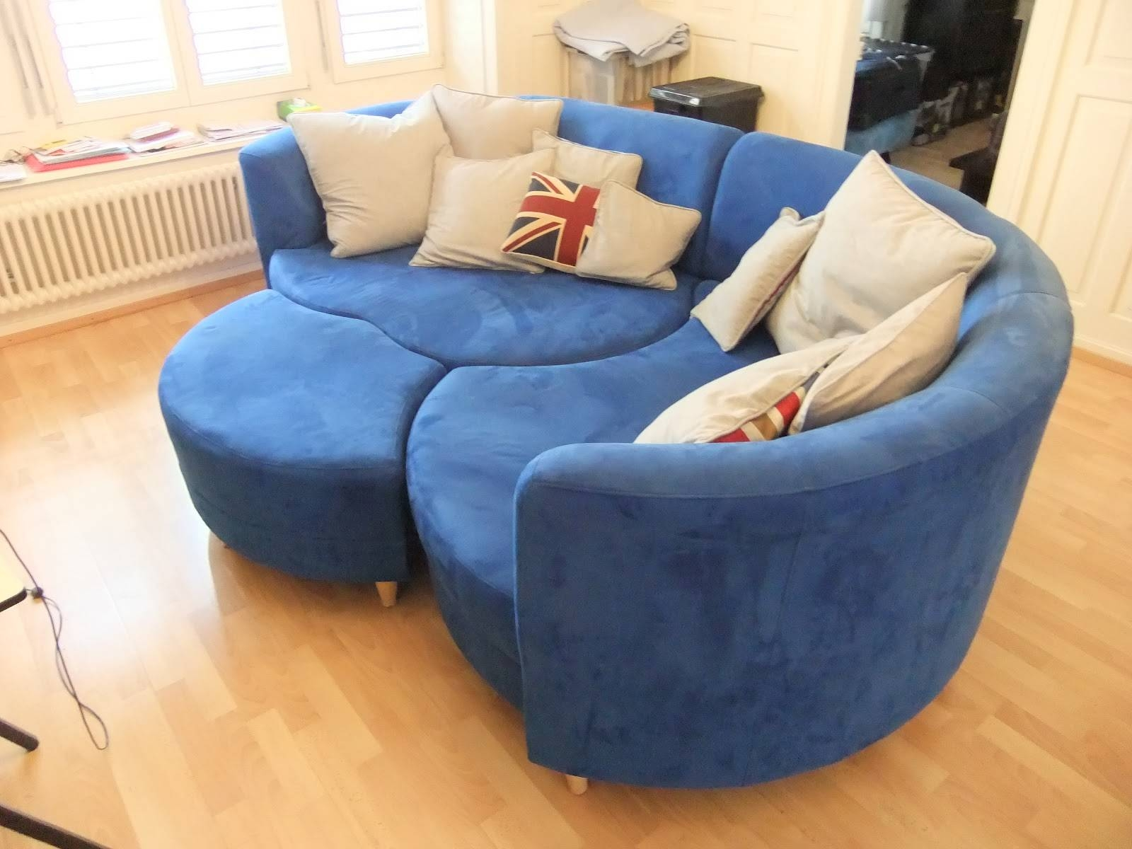 Furniture: Create Your Comfortable Living Room Decor With Round with regard to Classic Sofas For Sale (Image 21 of 30)
