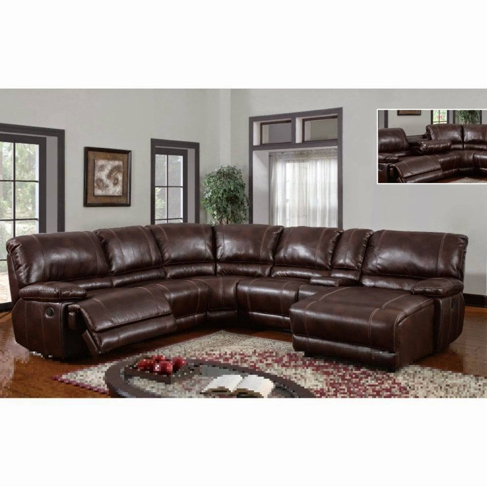 Furniture: Create Your Living Room With Cool Sectional Recliner Inside Jedd Fabric Reclining Sectional Sofa (Image 5 of 30)