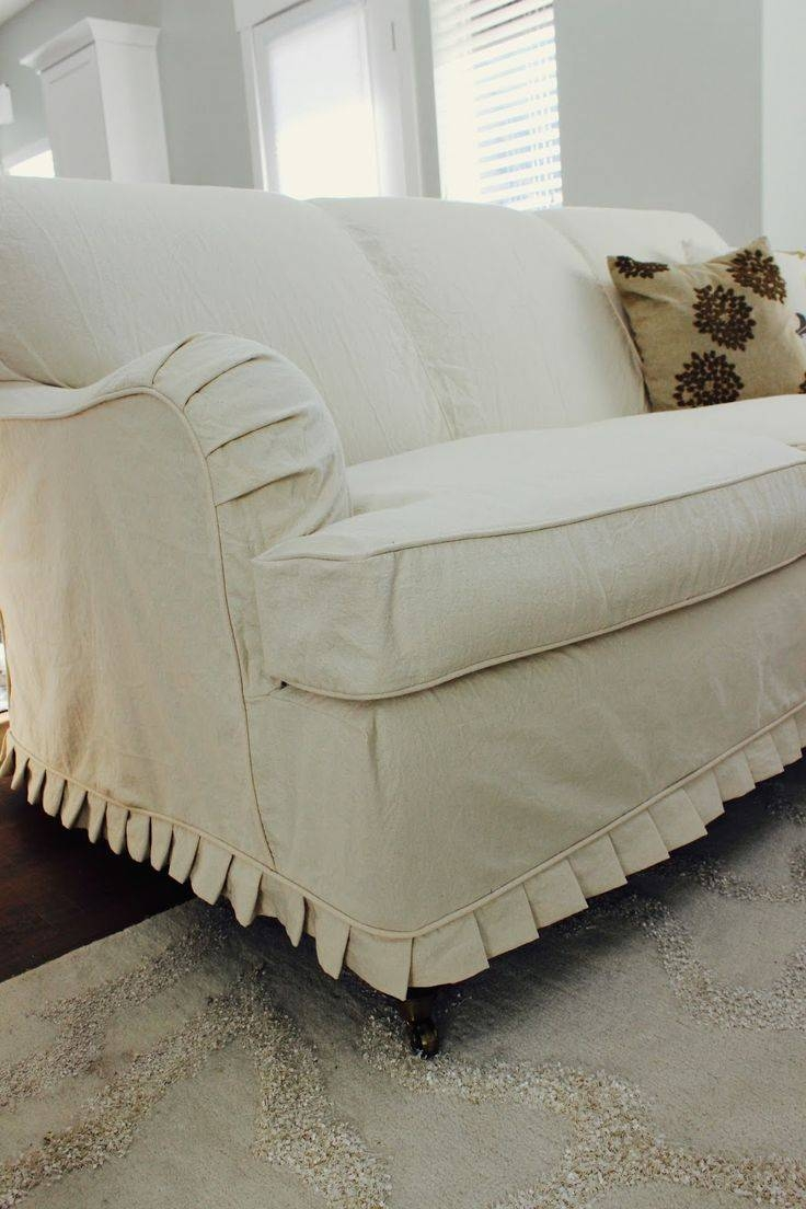 Furniture: Creates Clean Foundation That Complements Decorating inside Sofa and Chair Covers (Image 13 of 30)