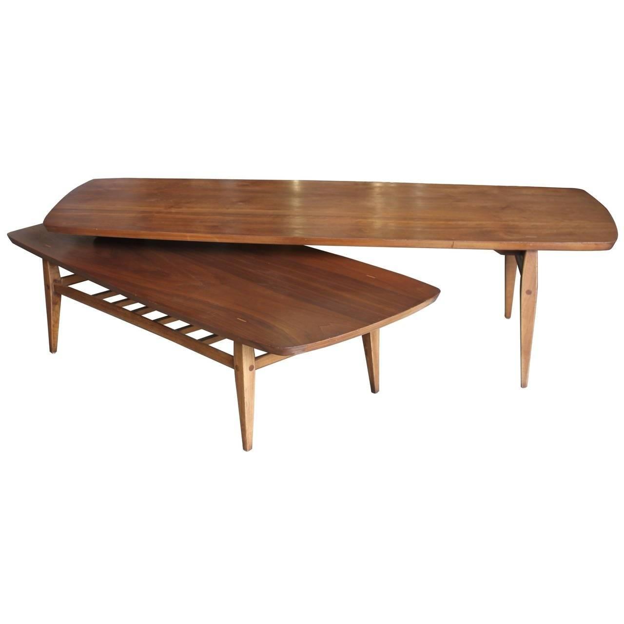 Furniture: Curve Coffee Table | Narrow Coffee Tables | Swivel intended for Narrow Coffee Tables (Image 14 of 30)