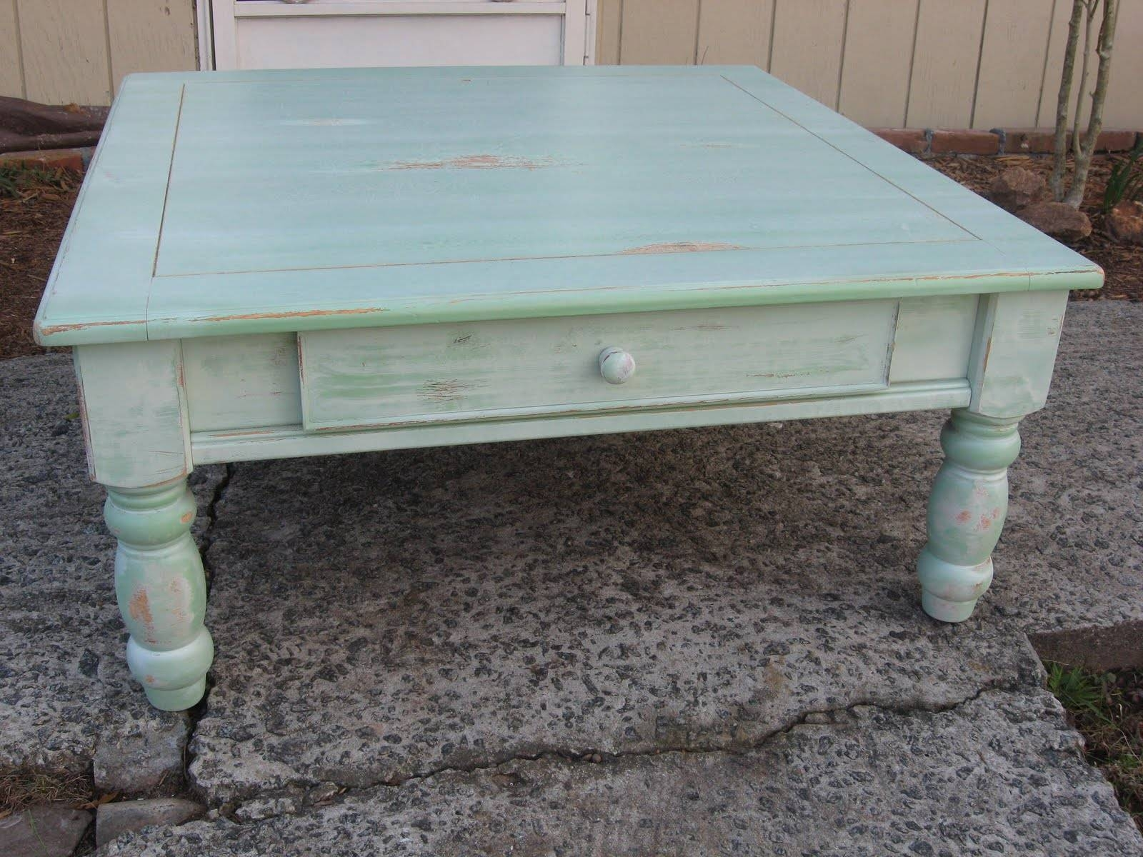 Furniture: Distressed Coffee Table With Grey Ceramic Floor And for Grey Wash Coffee Tables (Image 19 of 30)
