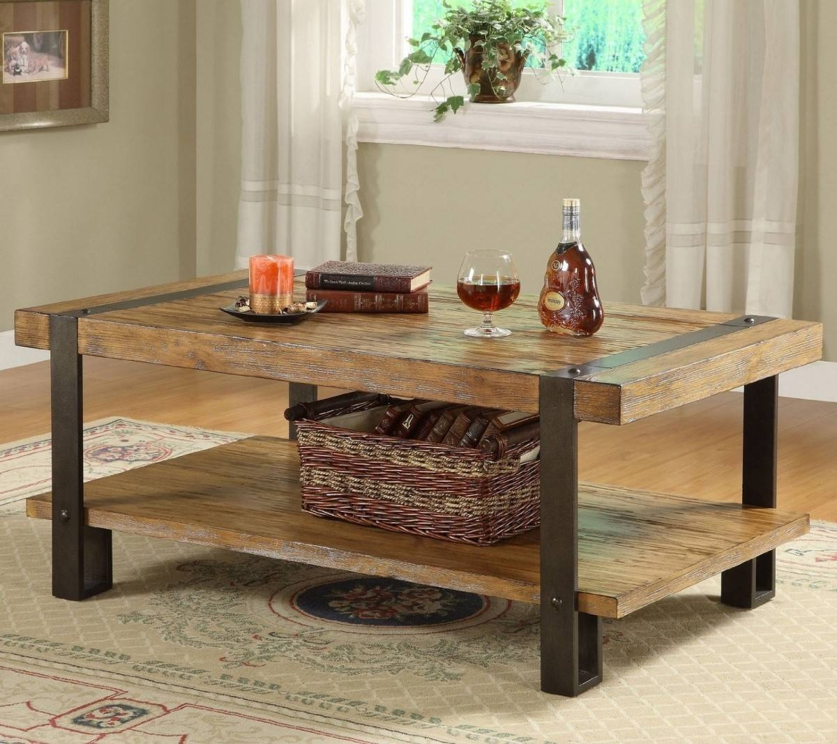 Furniture: Diy Coffee Table Ideas Coffee Table Ideas, Diy Coffee regarding Rustic Wood Diy Coffee Tables (Image 18 of 30)