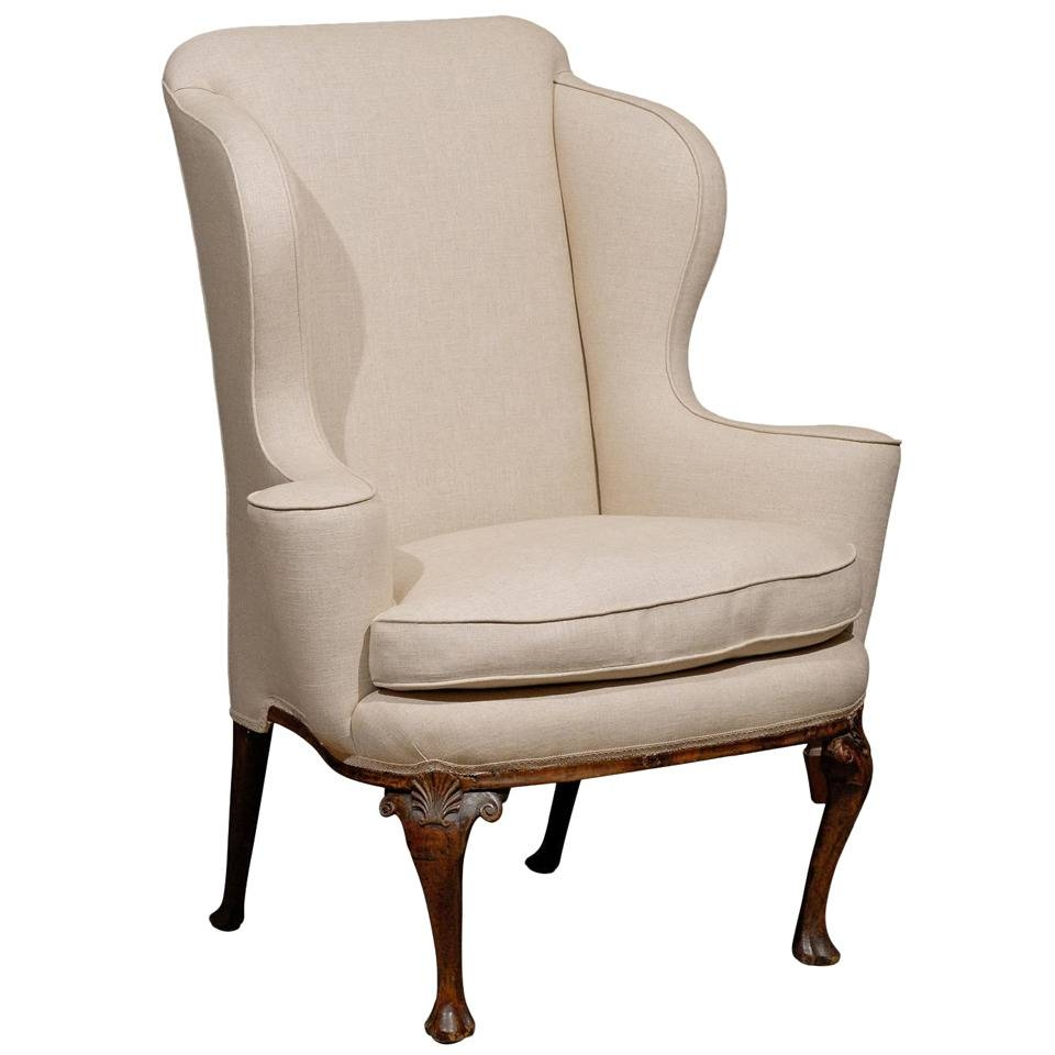 Furniture: Elegant Chair Design With Excellent Wingback Chairs For with regard to Small Armchairs (Image 17 of 30)