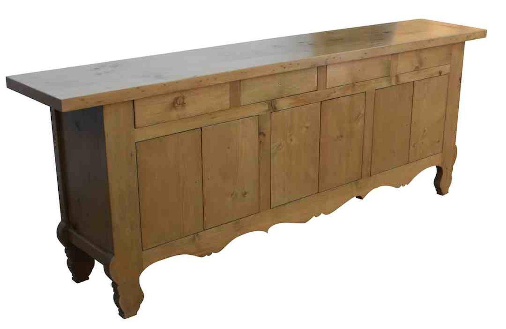 Furniture. Elegant Dining Room Buffets Sideboards Design | Sipfon for Slim Sideboards (Image 15 of 30)
