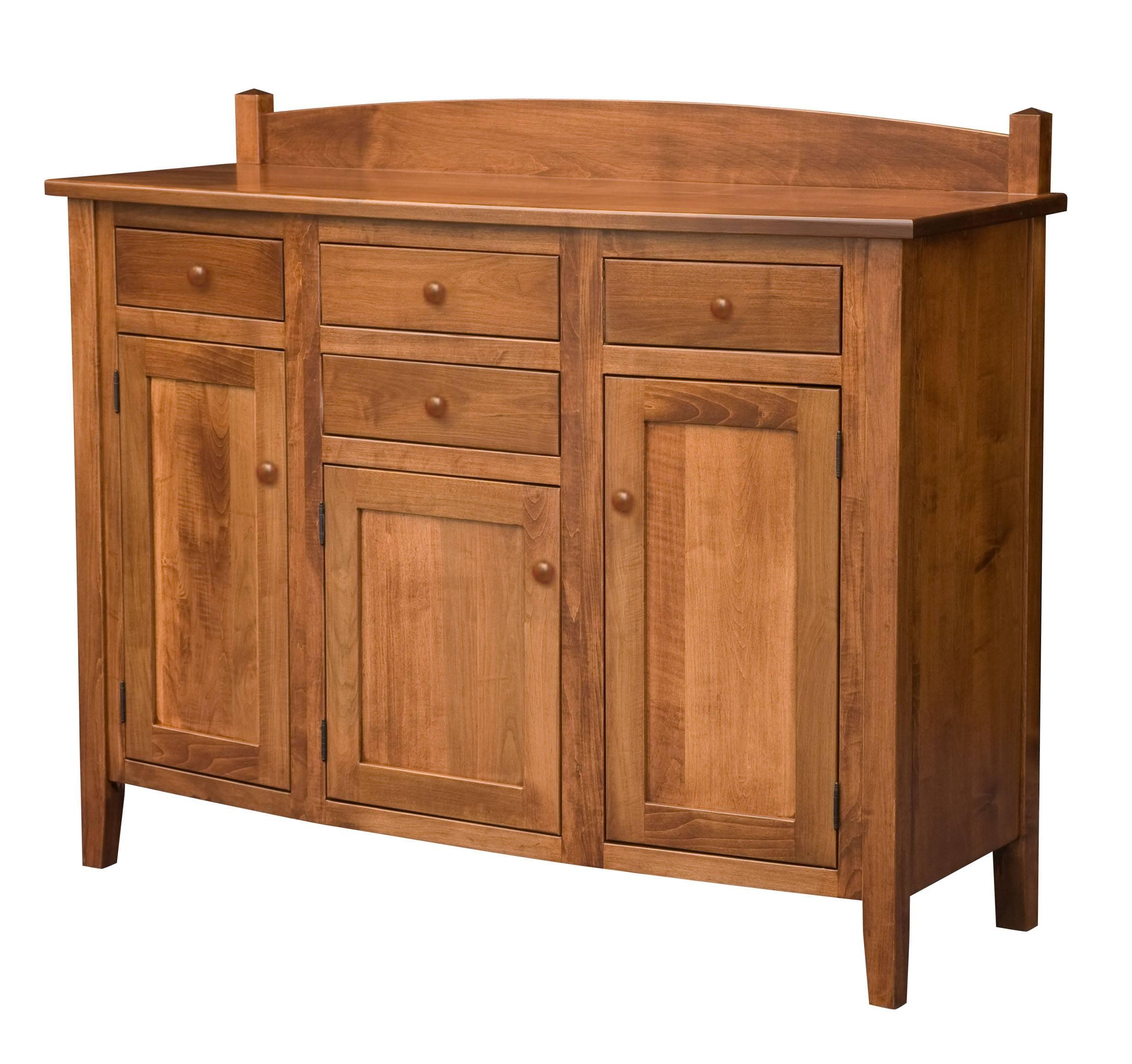 Furniture. Elegant Dining Room Buffets Sideboards Design | Sipfon intended for Unfinished Sideboards (Image 9 of 30)