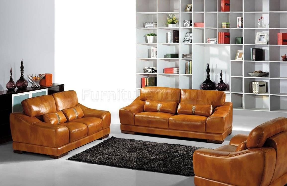 Furniture: Elegant Full Grain Leather Sofa For Luxury Living Room in Full Grain Leather Sofas (Image 17 of 30)