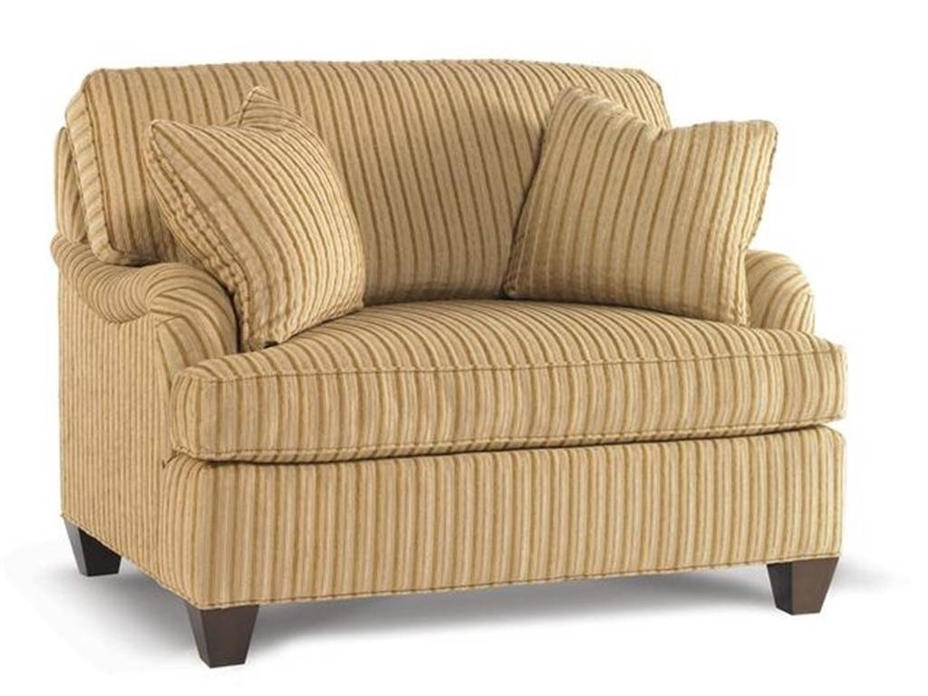 Furniture: Enchanting Chair And A Half Slipcover For Home inside Striped Sofas and Chairs (Image 15 of 30)