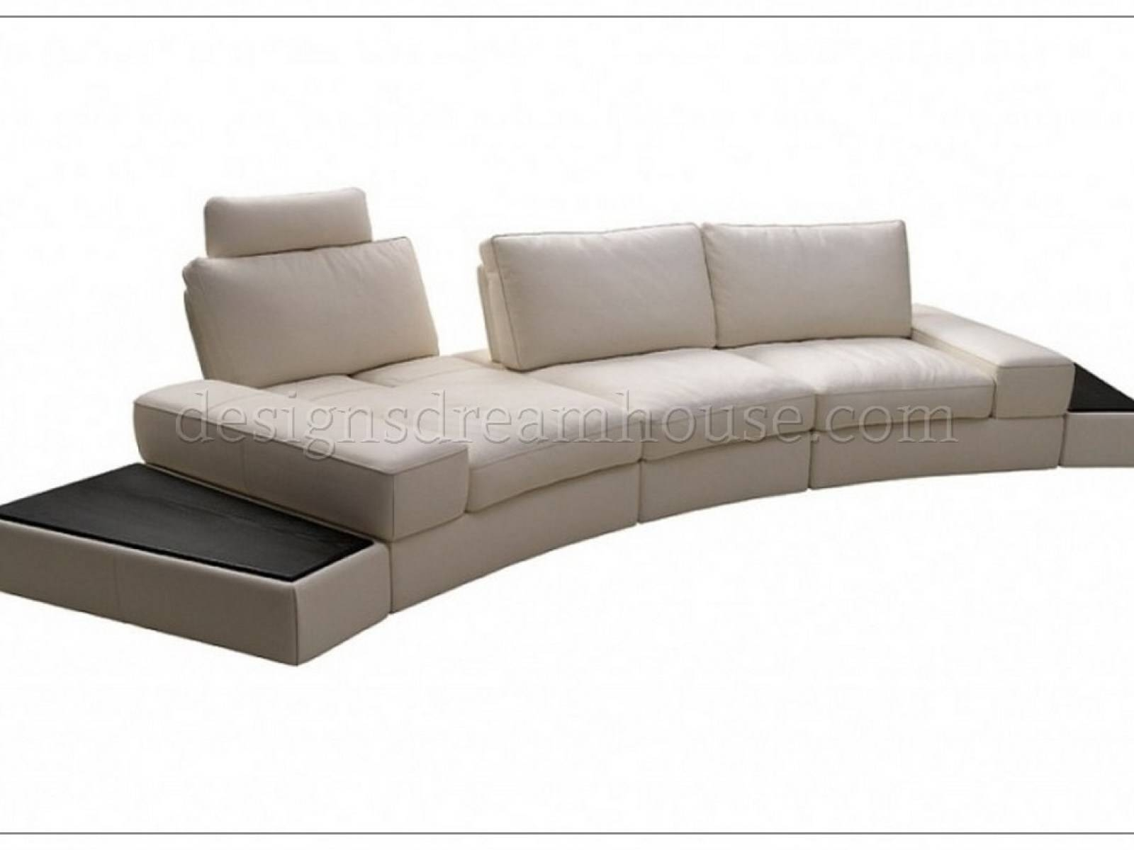 Furniture: Excellent Beige Sectional Sofa For Your Living Room with regard to Abbyson Living Charlotte Dark Brown Sectional Sofa and Ottoman (Image 18 of 30)