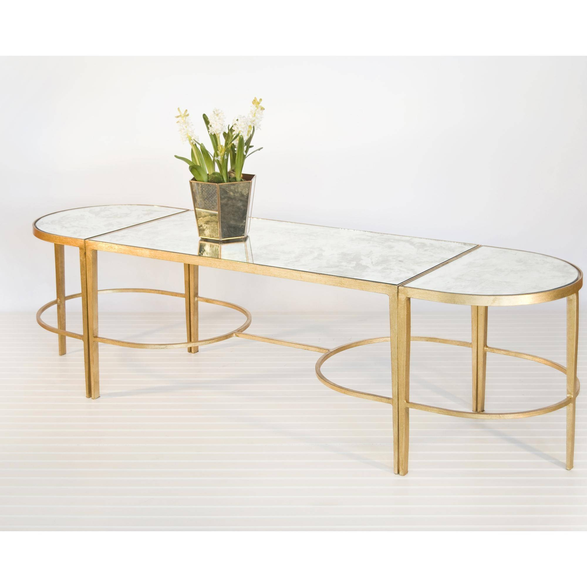 Furniture: Excellent Retro Classic Mirrored Coffee Table With for Retro White Coffee Tables (Image 14 of 30)