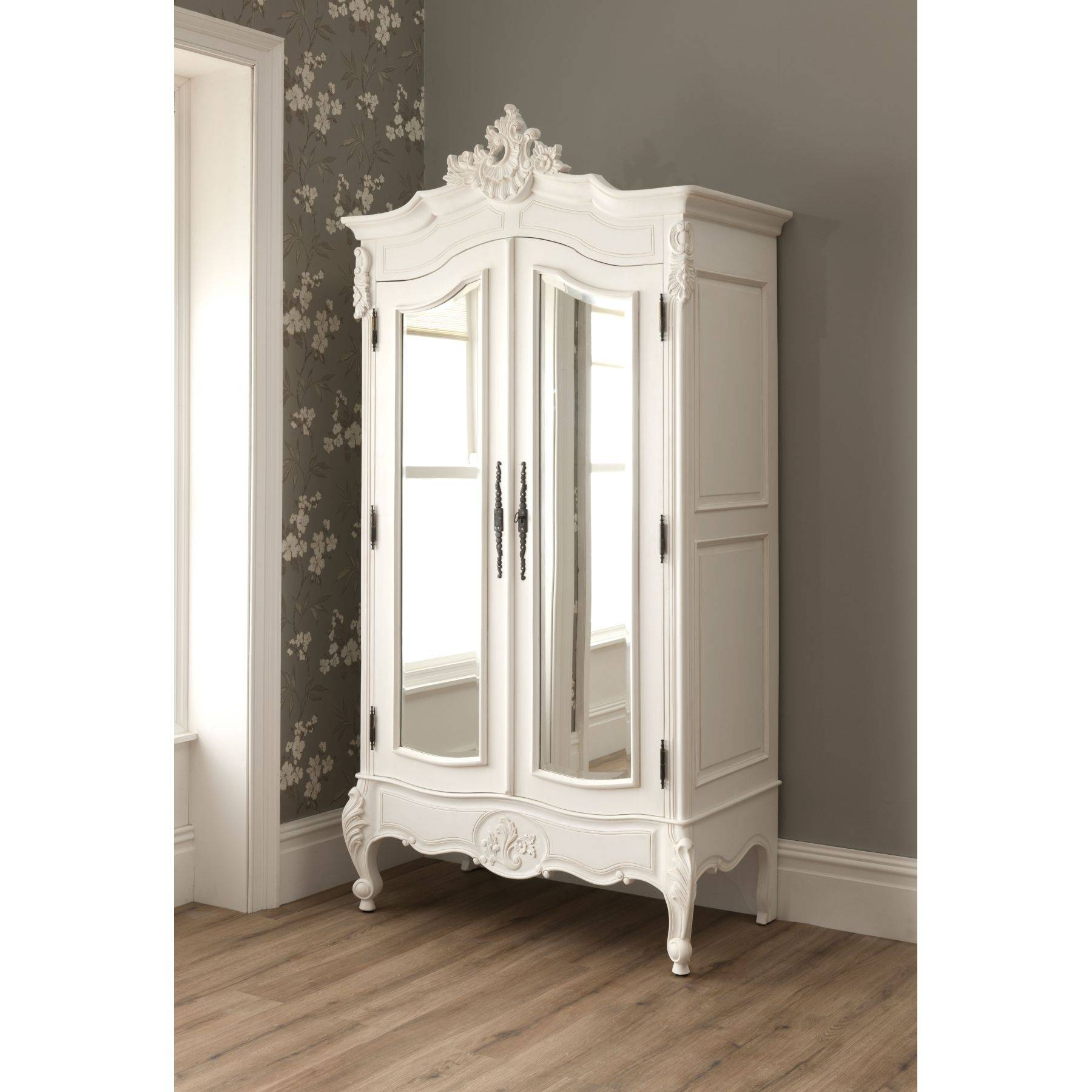 Furniture: Exciting Armoire Wardrobe For Interior Storage Design pertaining to French Armoire Wardrobes (Image 8 of 15)