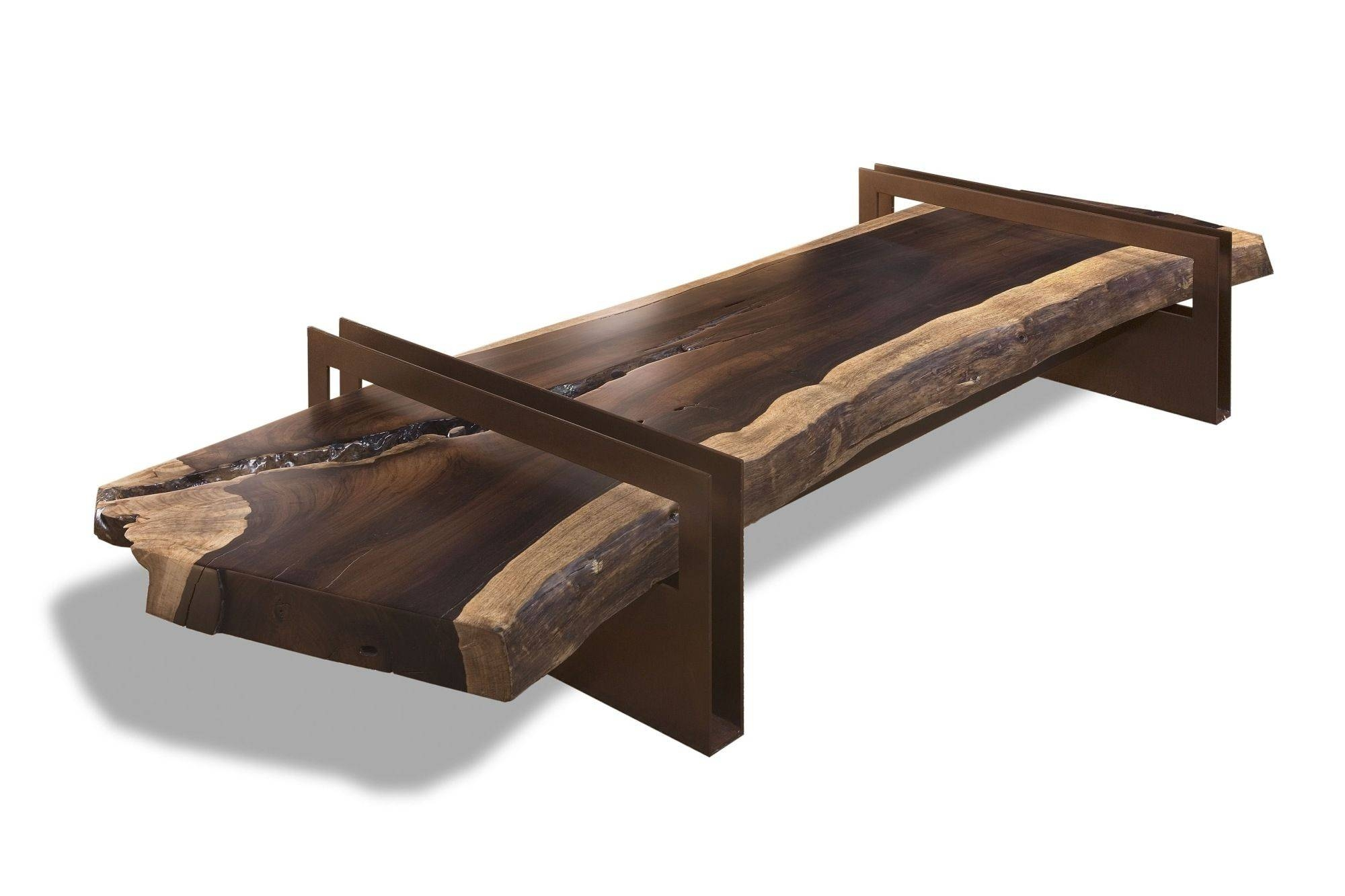 Furniture: Exciting Raw Wood Coffee Table For Home Furniture regarding Reclaimed Wood And Glass Coffee Tables (Image 13 of 30)