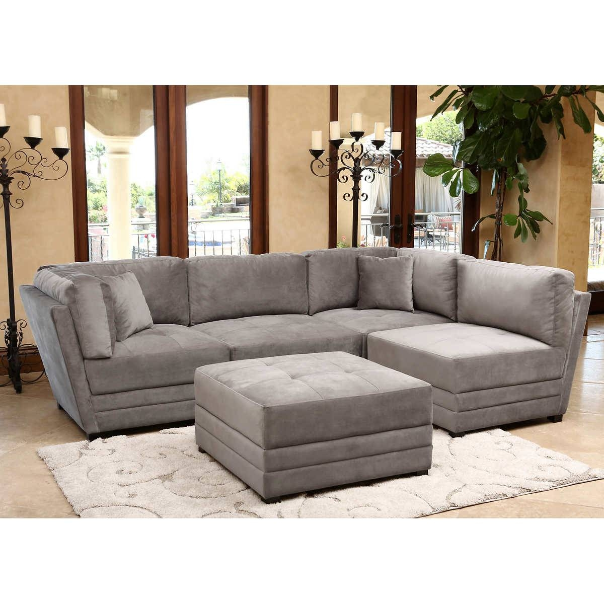 Furniture: Exciting Sectional Sofas Costco For Your Family Room pertaining to 6 Piece Modular Sectional Sofa (Image 14 of 30)