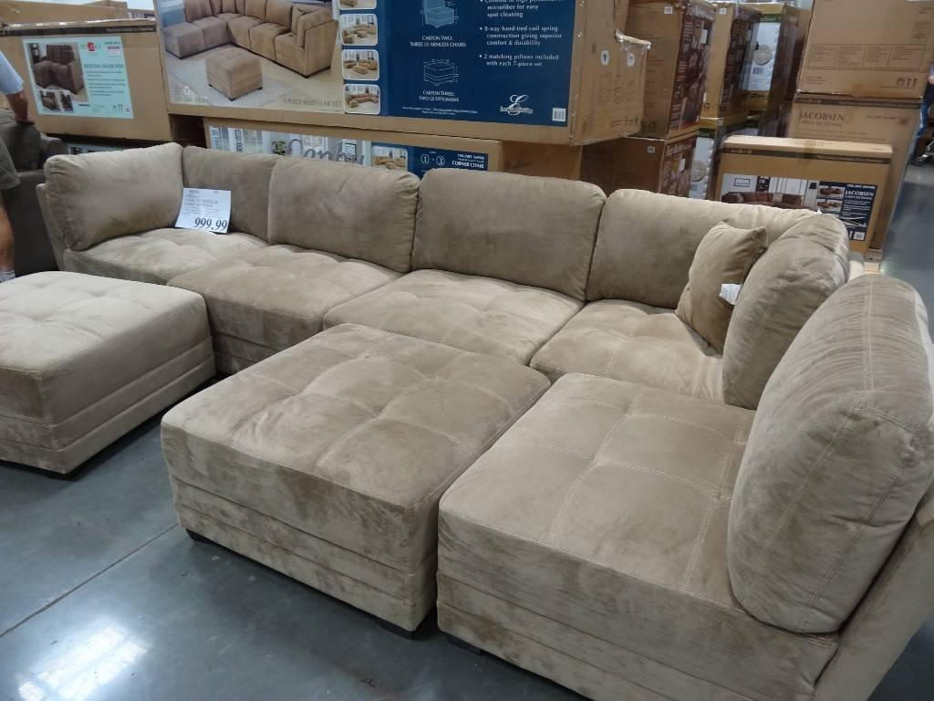 Furniture: Exciting Sectional Sofas Costco For Your Family Room regarding Leather Modular Sectional Sofas (Image 10 of 30)