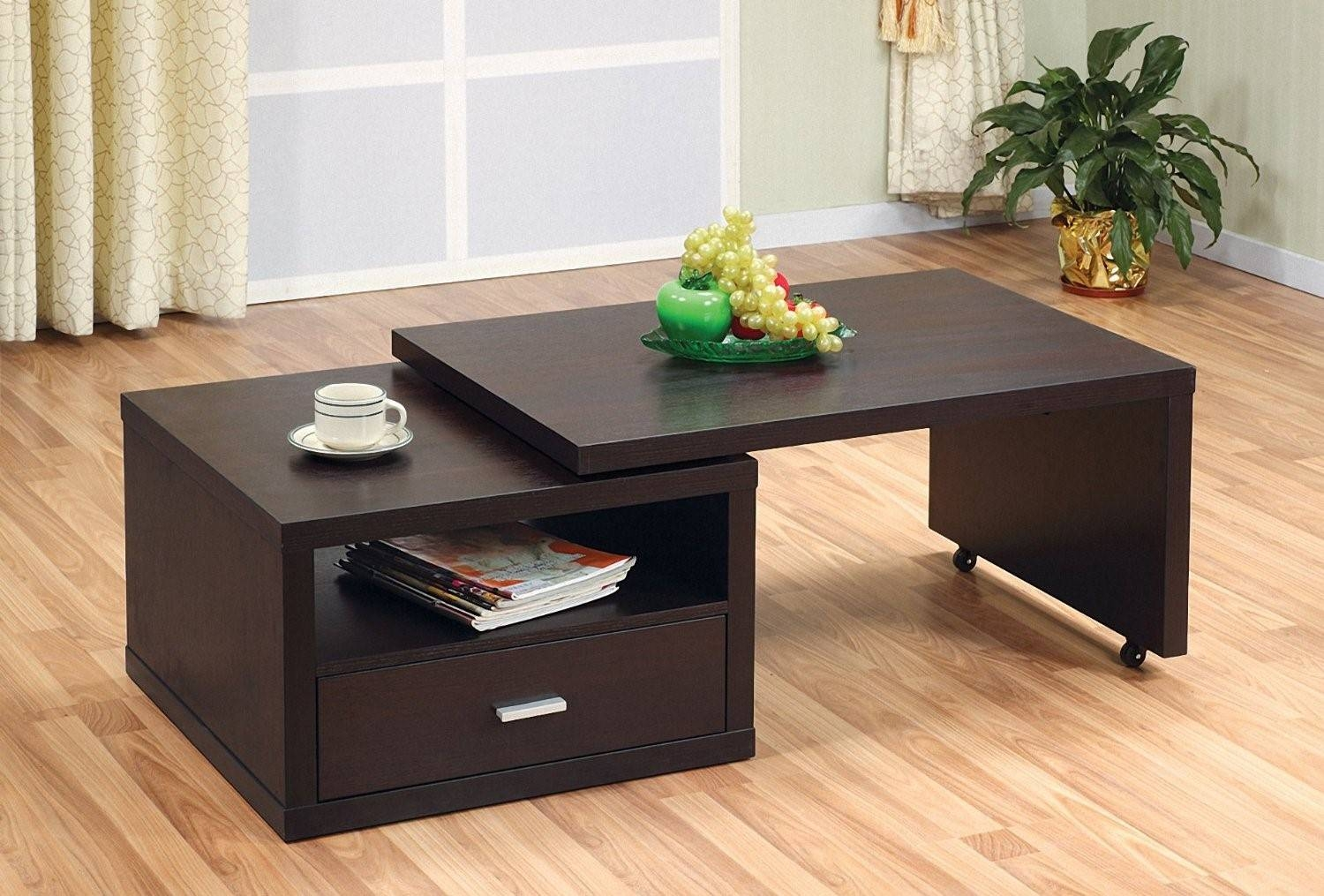 Furniture: Extendable Coffee Table Ideas Extendable Kitchen Table regarding Extendable Coffee Tables (Image 15 of 30)