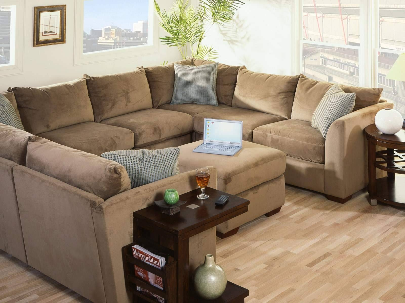 Furniture: Extra Large Sectional Sofa | Oversized Couches | L with Comfy Sectional Sofa (Image 14 of 30)