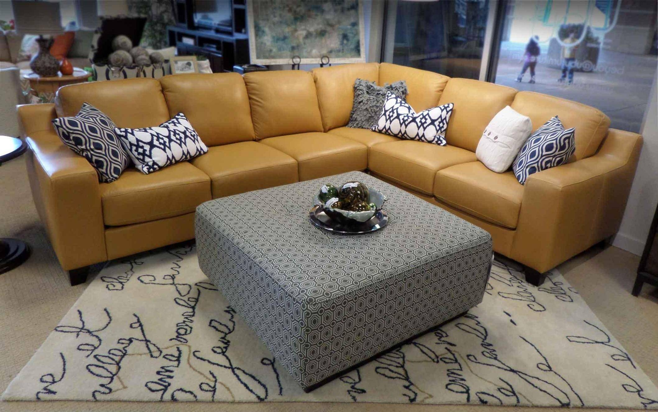 Furniture: Fabric Ottoman Coffee Table Ideas Tufted Fabric Ottoman pertaining to Fabric Coffee Tables (Image 22 of 30)